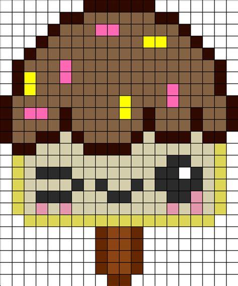 kawaii perler bead patterns kandi patterns for kandi cuffs food pony bead patterns