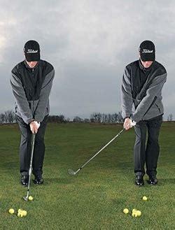 steve stricker golf swing winter tips dead hands chipping style golf academyone