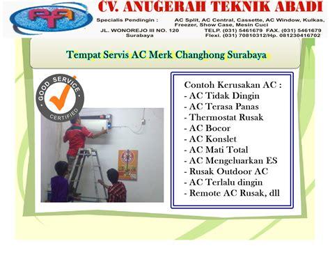 Mesin Cuci Changhong service layanan repair perbaikan cuci ac changhong