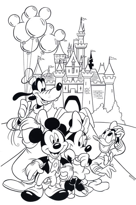 printable disney coloring pages for adults free disney coloring pages free adult coloring and