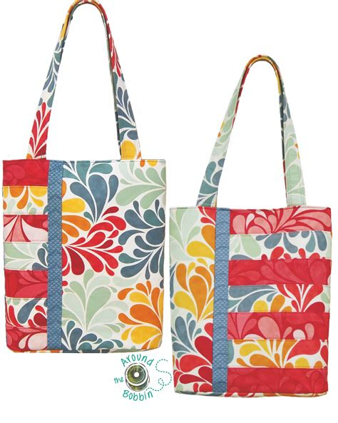 pattern tote bag book club bag and sassy tote bag patterns converted to pdf