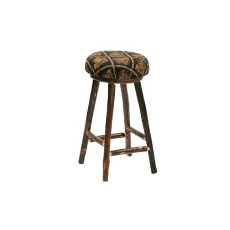 Fireside Lodge Bar Stools by Hickory Upholstered Bar Stool