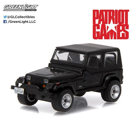 Greenlight Jeep Wrangler Yj 1987 Seri Patriot greenlight 1 64 series 13 1987 jeep wrangler yj