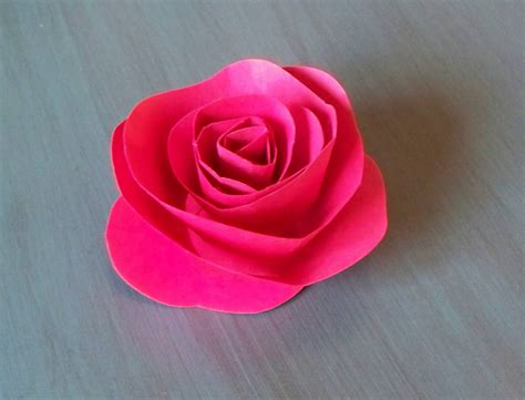 How To Make Handmade Paper Roses - krista sew inspired vintage paper flower tutorial