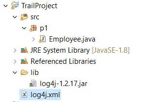 log4j xml java where to place log4j xml file in a non maven