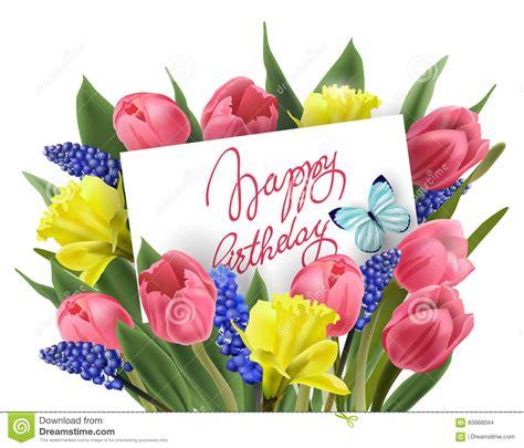 fiori clip bouquet clipart happy birthday pencil and in color
