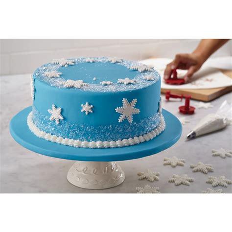 winter cake decorations carlo s bakery winter cake kit