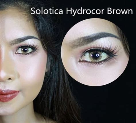 Solotica Hydrocor Brown By Sweety Plus solotica hydrocor brown sweety plus colored contact lens