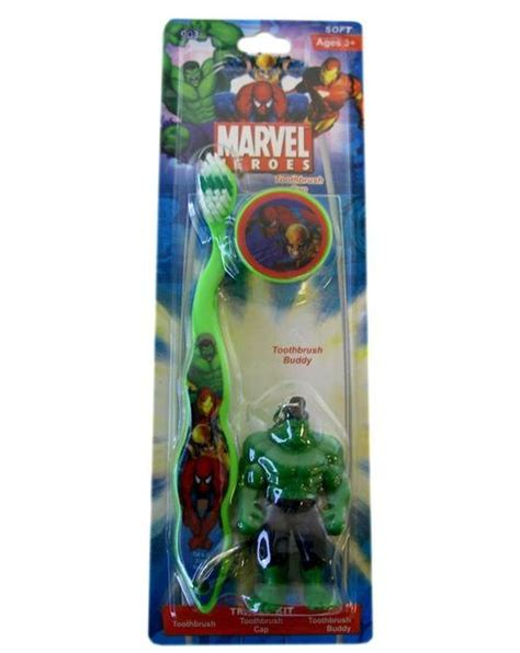 dr fresh marvel heroes toothbrush buddy pack iron man