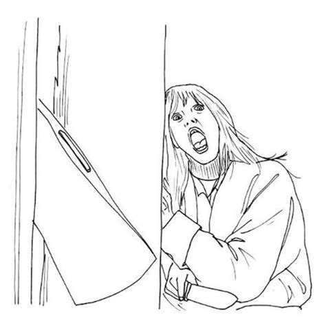 Free Coloring Pages Of Fandango Horror Coloring Pages
