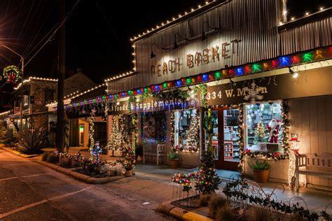 christmas lights fredericksburg texas terri butler