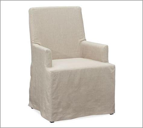 napa chair slipcover napa chair slipcovers pottery barn dining rooms