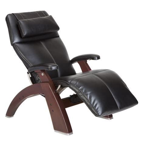 human touch perfect chair pc  silhouette leather  gravity recliner reviews wayfair