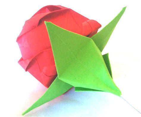 origami calyx for an origami