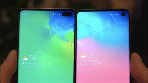 Samsung Galaxy S10 Plus by Samsung Galaxy S10 Vs Galaxy S10 Plus The Differences