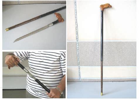 Pisau Tongkat warisan khalifah tongkat pisau kayu nibong tembaga masih