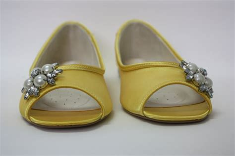 yellow flat shoes for wedding yellow wedding shoes flat bridal shoe choose from