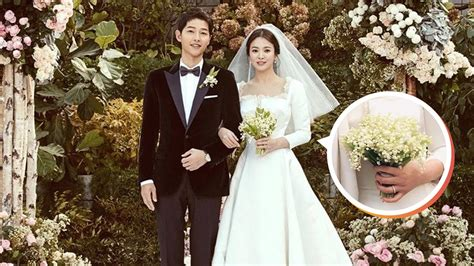 song hye kyo s bouquet reportedly cost more than