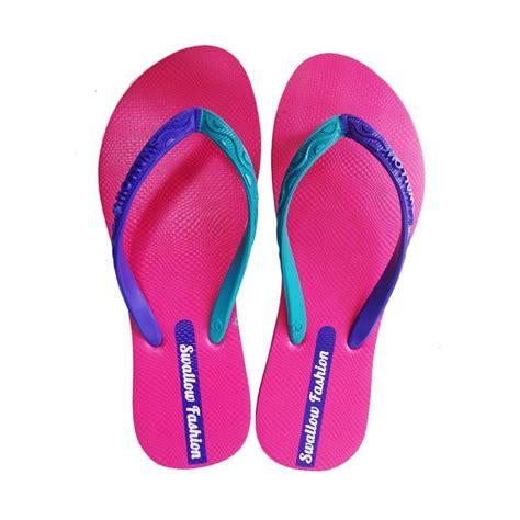 Toko Leony Sandal Jepit Swalow jual fashion pink sandal jepit