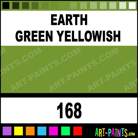 earth green yellowish polychromos pastel paints 168 earth green yellowish paint earth green