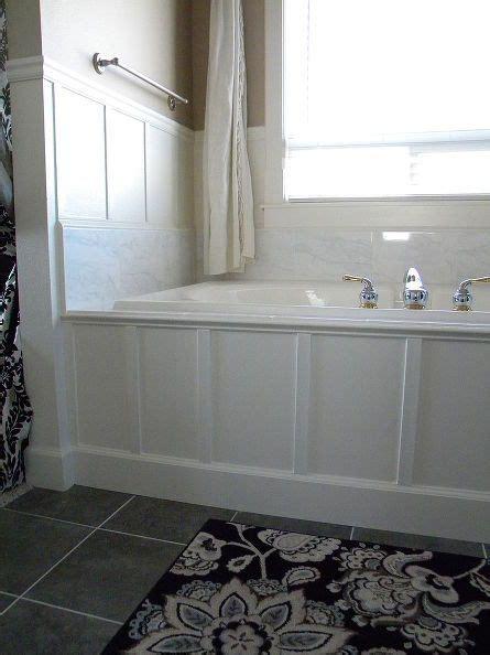 wood around bathtub 25 best ideas about bathtub surround on pinterest