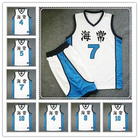kuroko no basket jersey design 9 best images about kuroko no basuke basketball jersey and
