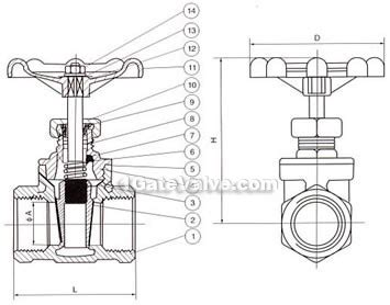 gate valve diagram stainless steel wire port gate valve made in china gate valves