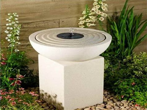 solar powered backyard fountains bloombety solar powered water fountain for small garden with nice design solar