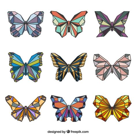 imagenes de mariposas realistas mariposas lindo geom 233 tricas en colores descargar