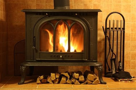 freestanding wood fireplace for your home and office