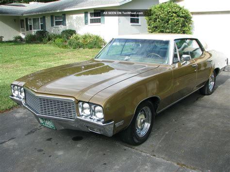 1970 buick skylark custom 4 dr pillar less hardtop