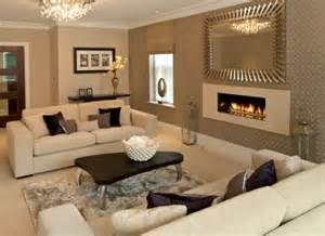 white couches in living room – Simple Living Room Decoration with White 2 Seat Extra Deep Sofa, and 4 White Pillows Set. Sofas