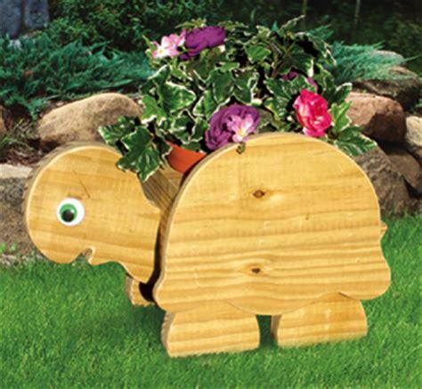 planter woodworking plans turtle flower pot planter wood
