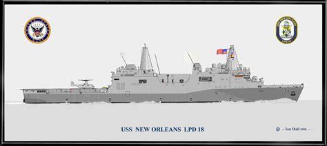 USS New Orleans LPD 18 Print   Amphibious Prints   PriorService.com