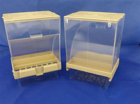 seed hopper plastic great for aviary and cage birds