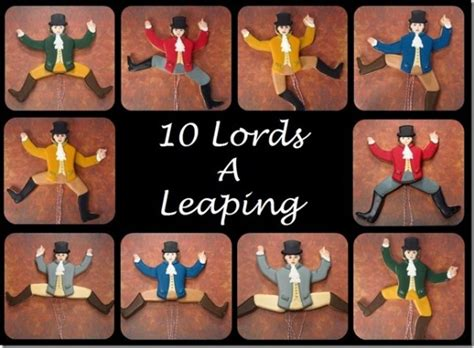ideas for 10 lords a leaping the twelve days of cookie project ten a leaping the sweet adventures of sugar