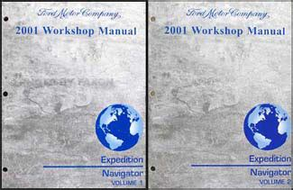 car engine repair manual 2001 ford expedition engine control 2001 2002 ford expedition lincoln navigator shop manual repair service workshop ebay
