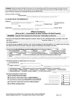 Free Printable Divorce Papers For Arkansas