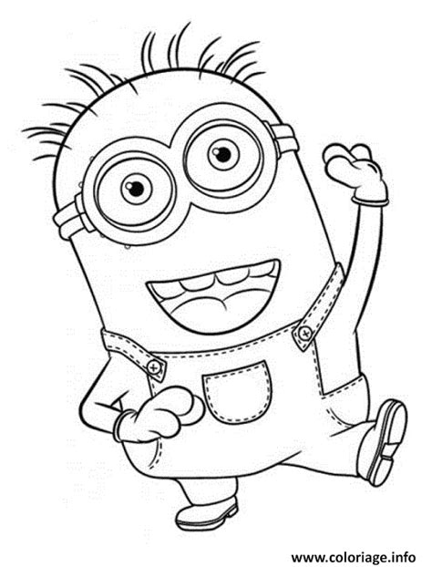 Coloriage Minion De Moi Moche Et Mechant 23 Dessin Coloriage Magique Son Ou L
