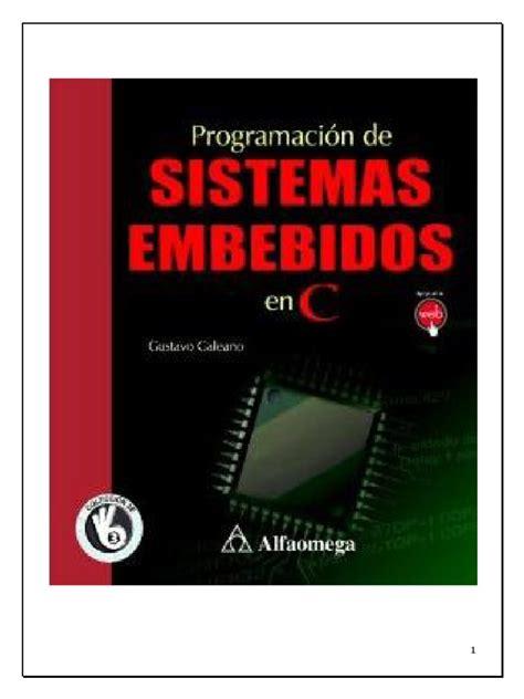 indice de un proyecto 8vo nivel scribdcom sistemas embebidos en c pdf