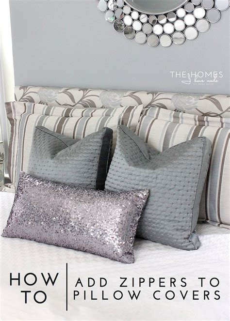 How To Install A Zipper In A Pillow by How To Add Zippers To Pillow Covers And A Pillowcubes