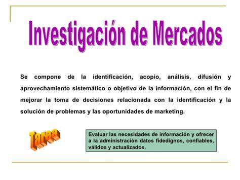 investigacin de mercado monografiascom semana 2 investigacion de mercados