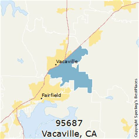 zip code map vacaville ca best places to live in vacaville zip 95687 california