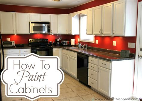 How To Paint Cabinets How To Repaint Kitchen Cabinets White