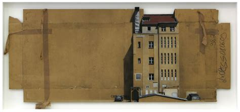 spray paint cardboard cityscapes made with cardboard and spray paint