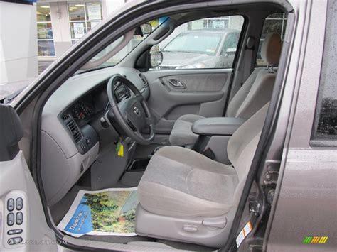 mazda tribute 2002 interior gray interior 2002 mazda tribute lx v6 4wd photo 47517322