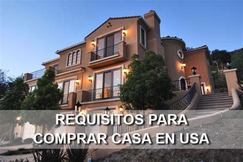 requisitos para comprar una casa requisitos para comprar casa en usa ayudas y pr 233 stamos fha
