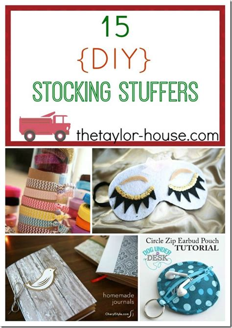 Handmade Stuffers - 15 diy stuffer ideas the house