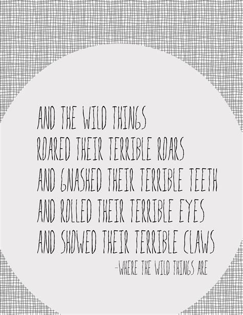 printable version of where the wild things are where the wild things are quotes quotesgram