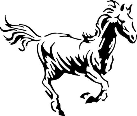 mustang horse drawing mustang horse drawing